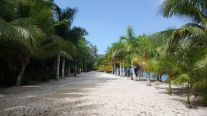 Quiet beach at Maya Key