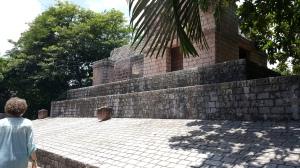 Faux Mayan ruins at Maya Key