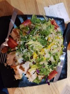 Thai Noodle Salad at Grub Burger in Midland, TX