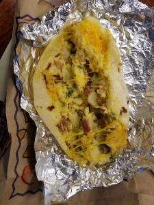 Rosa's Cafe Ultimate Breakfast Taco