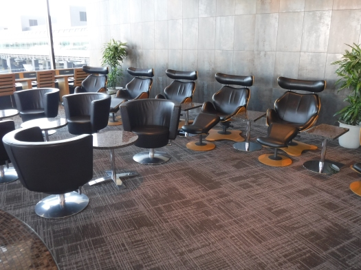 Seating area in the Narita Admiral's Club