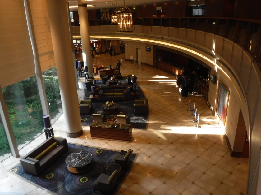 Narita Hilton lobby
